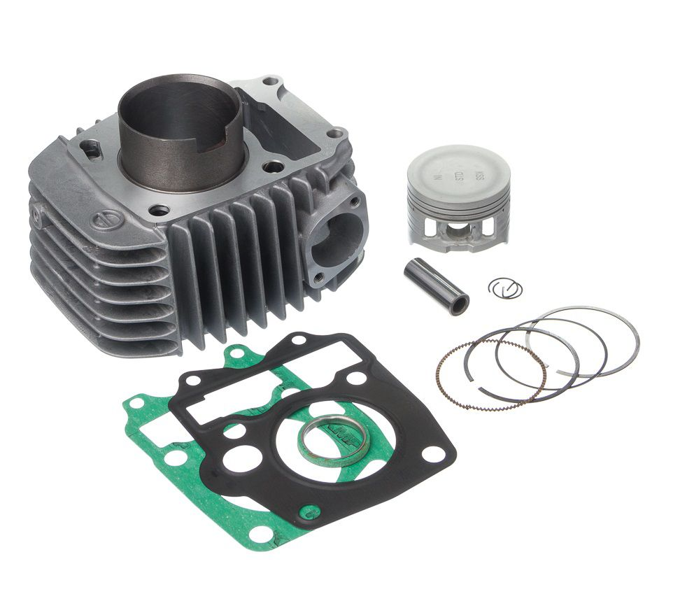 Kit Kmp Completo C/ Cilindro Pistao Anel E Junta Kit-A Biz 125 05 A 08