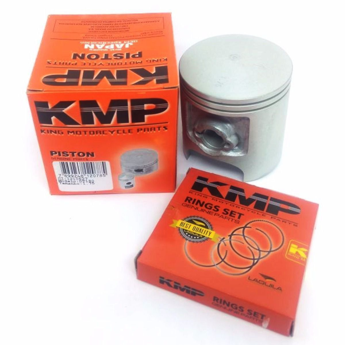 Kit Pistão Kmp Com Anéis Dt 180 Std Á 2.00mm
