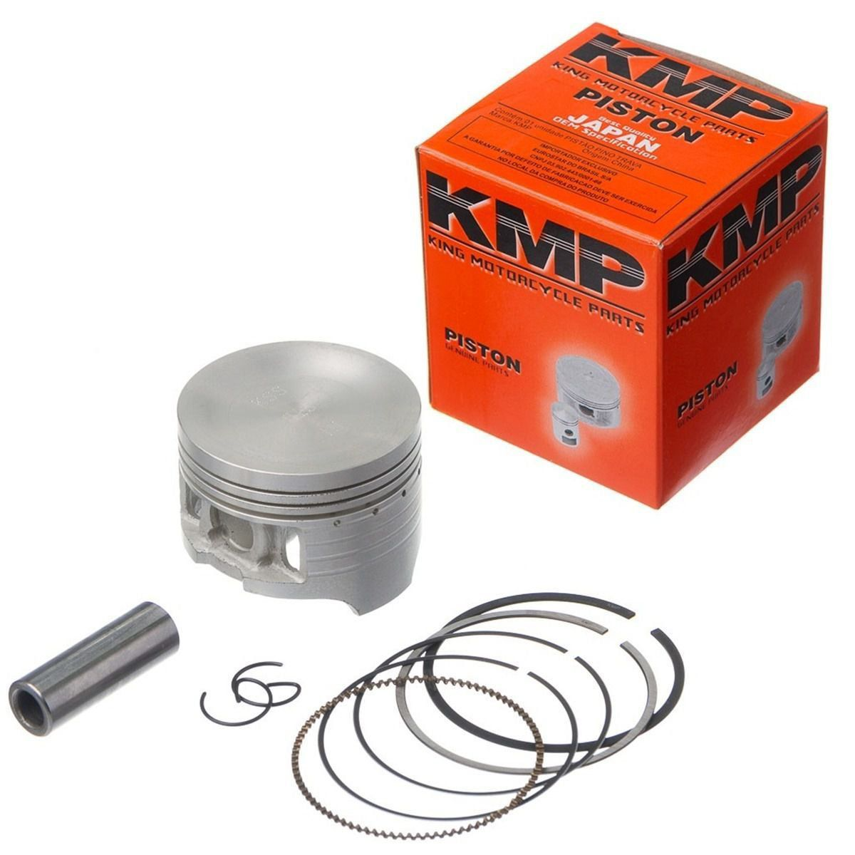 Kit Pistão Kmp Com Anéis Xlx 350 Std 0.50 0.75mm