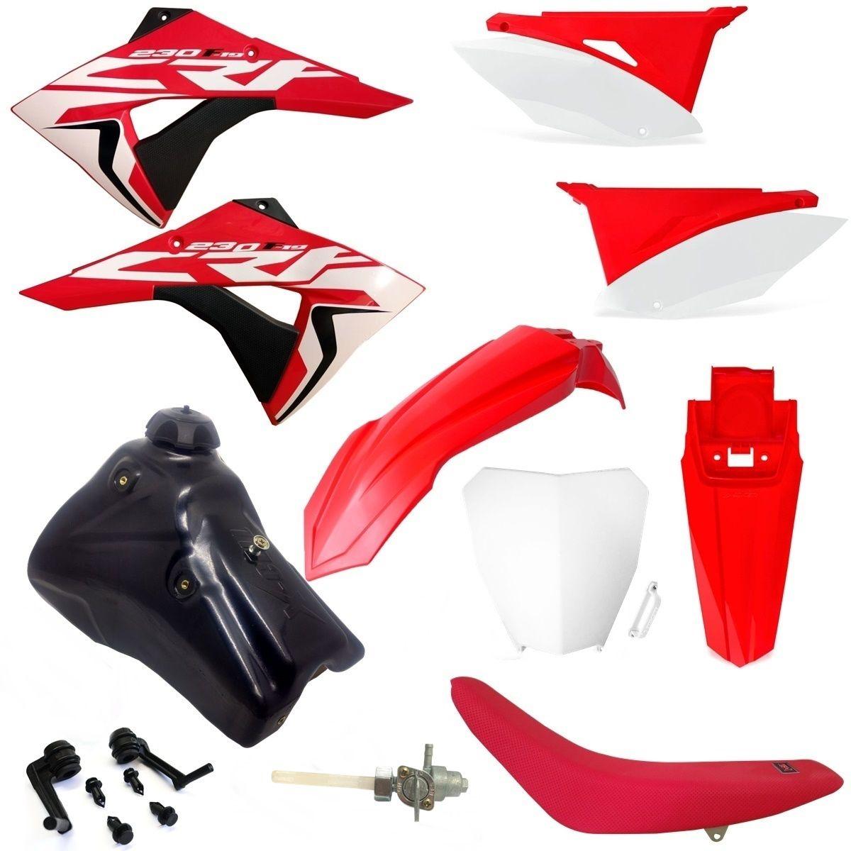 Kit Plástico Biker Elite Completo Crf 230 2007 a 2020
