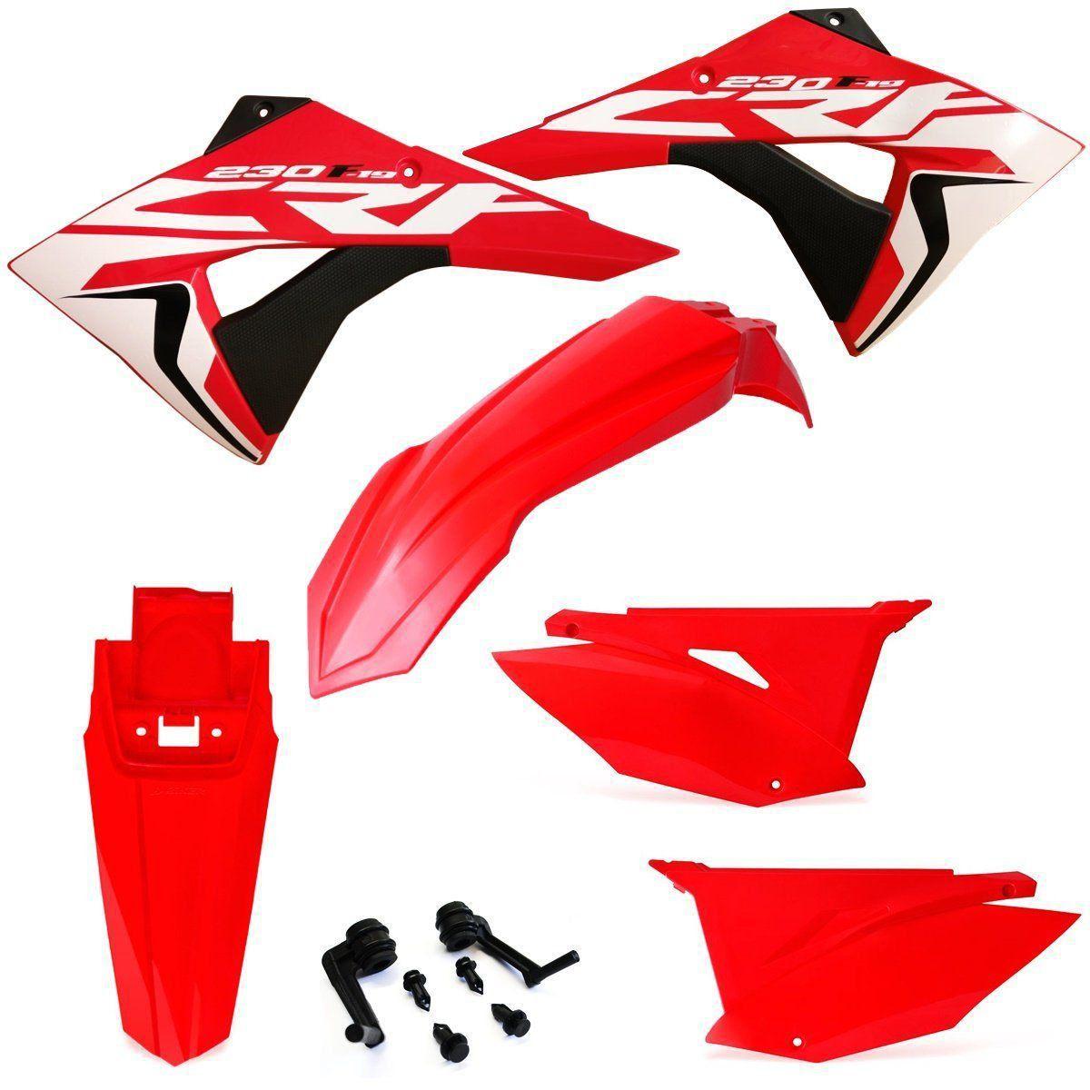 Kit Plástico Crf 230 Biker Elite Com Adesivos El1te