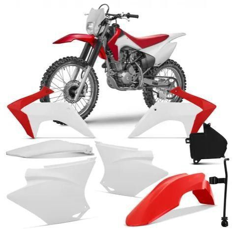 Kit Plástico Carenagem Crf 230 2008 Á 2018 Completo Pro Tork