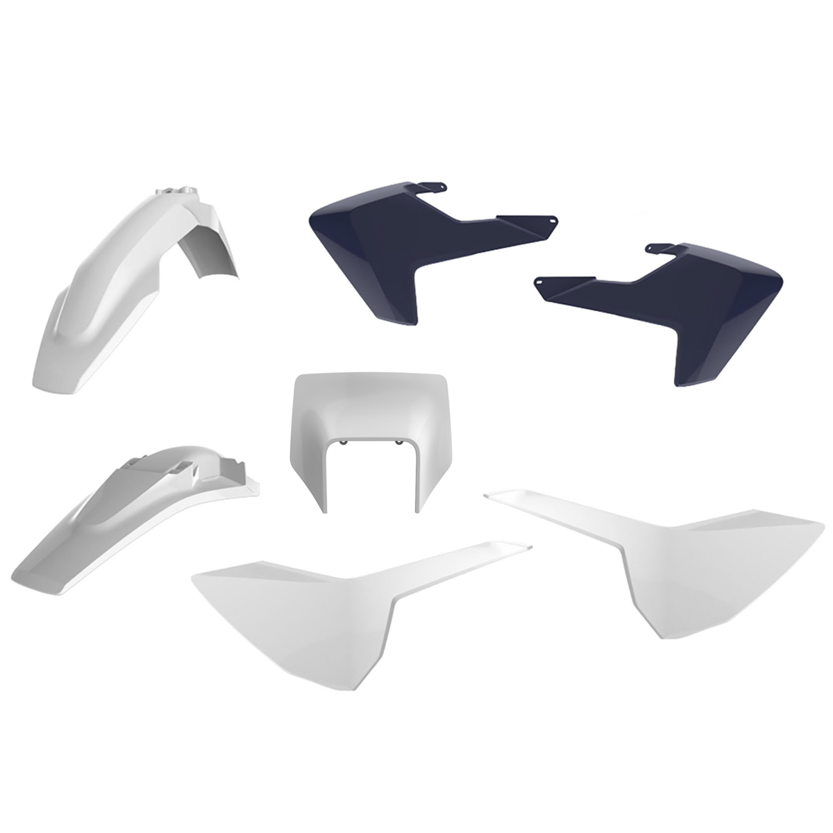 Kit Plástico Polisport Husqvarna Fe 250/350/450 Te 250/300 17/19