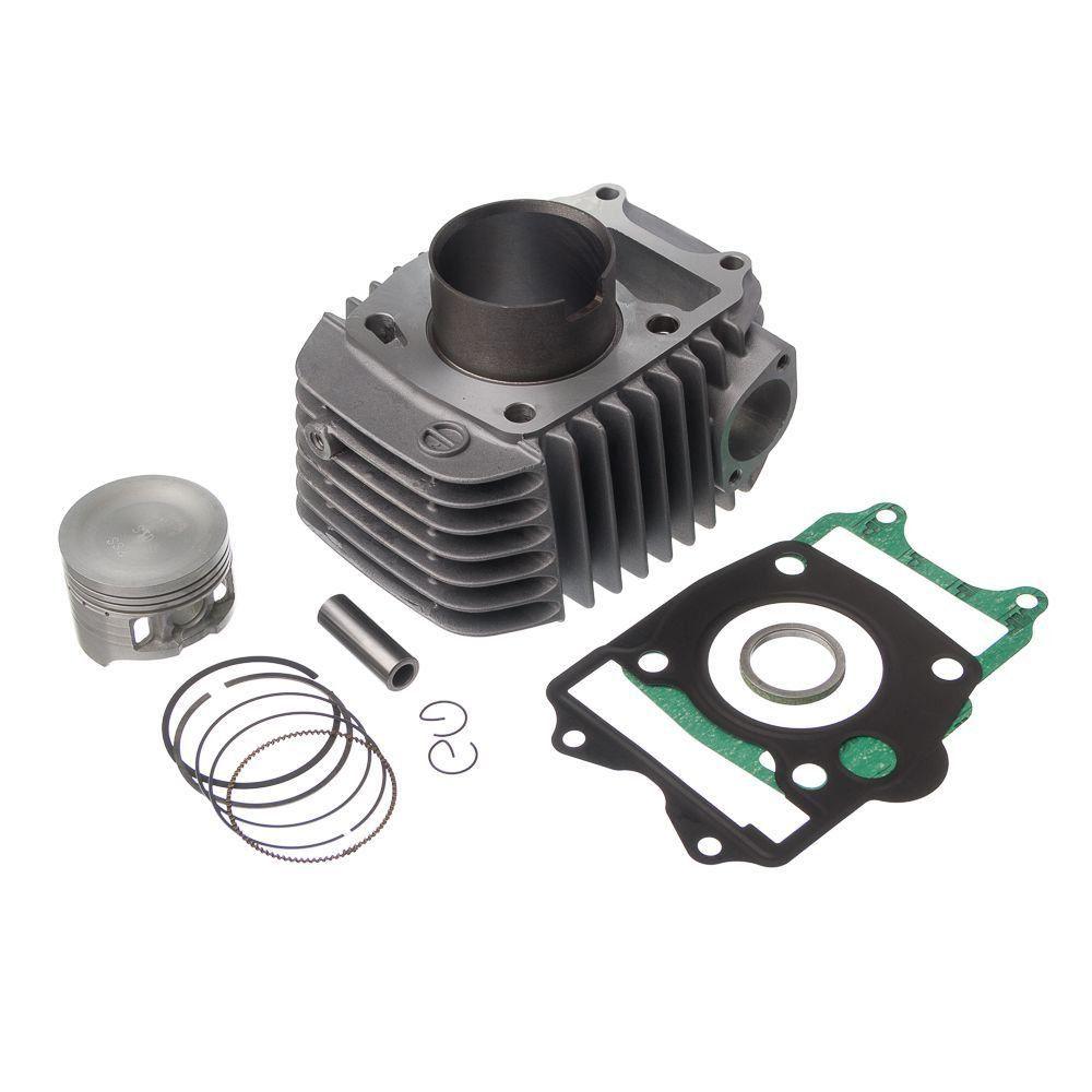 Kit Premium Completo C/ Cilindro Pistao E Junta Kit-A Kmp Anel Rik Biz 125 05 A 08