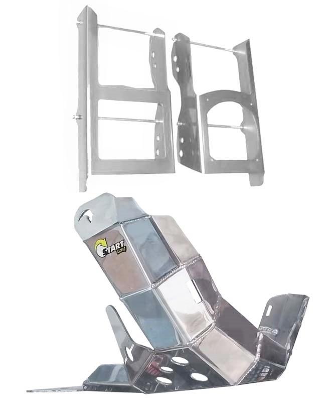 Kit Protetor Radiador E Motor Start Sherco 250 300 Sc Se-r