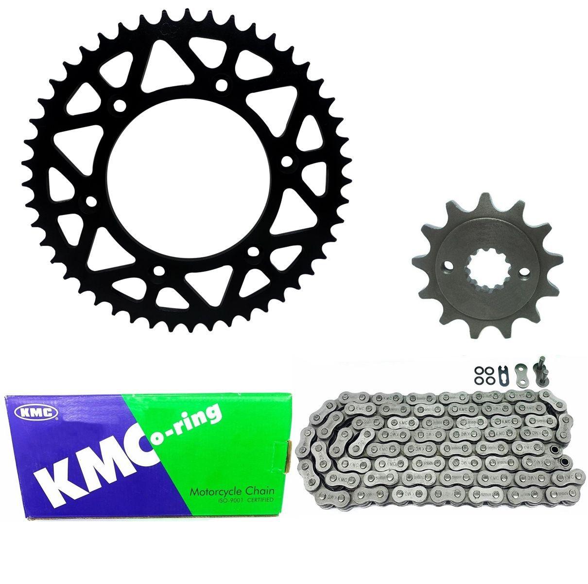 Kit Relação Corrente Kmc 520 116L Crf 450r Crf 450rx