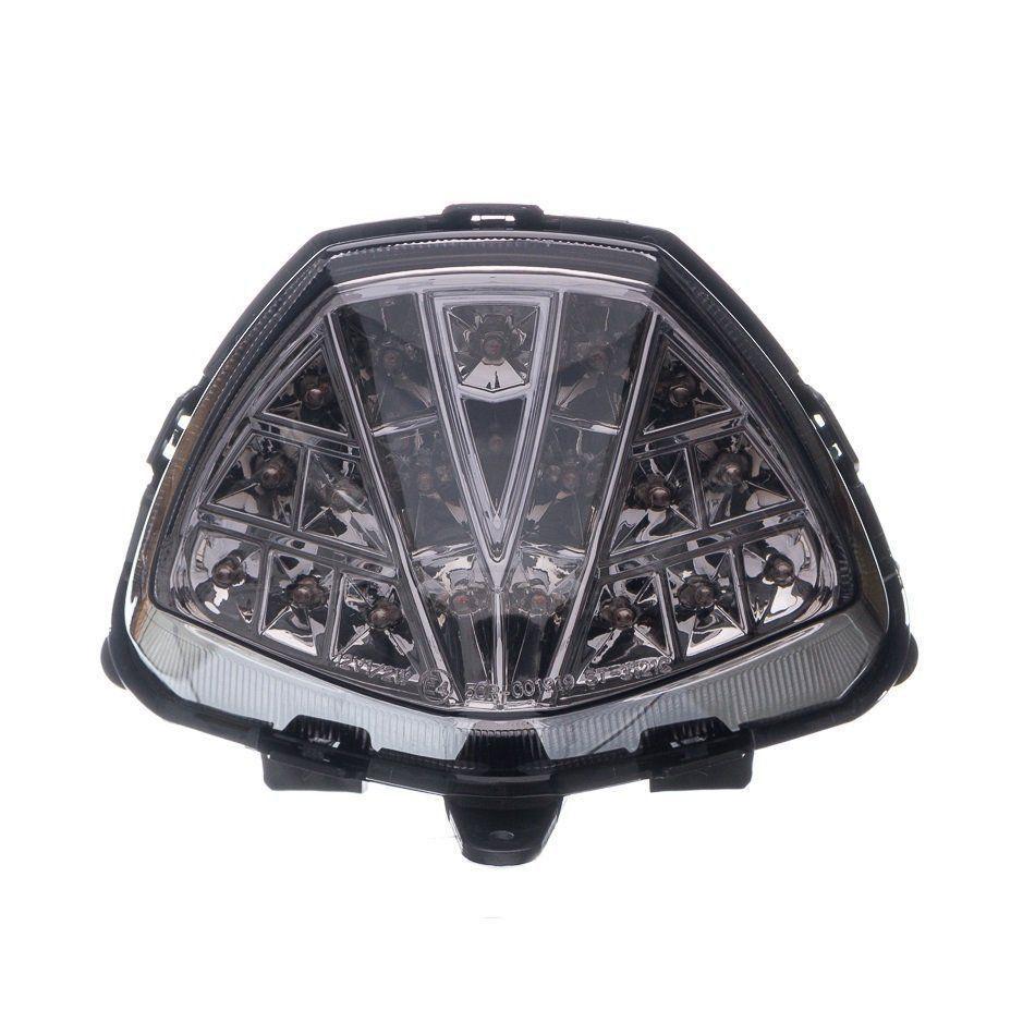 Lanterna Traseiro Moto X Led C/Piscas Laterais Integrado Cbr250R 11...