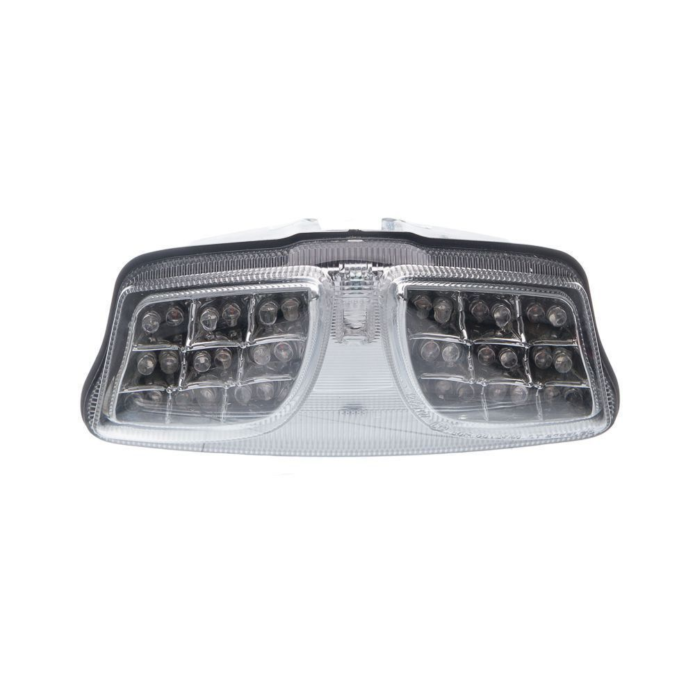 Lanterna Traseira Moto X Led Piscas (Cristal) Suzuki Gsx R 1000 Srad 10...