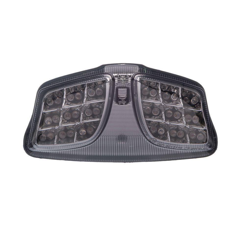 Lanterna Traseira Moto X Em Led Com Piscas Suzuki Gsxr 750 Srad 08 A 10