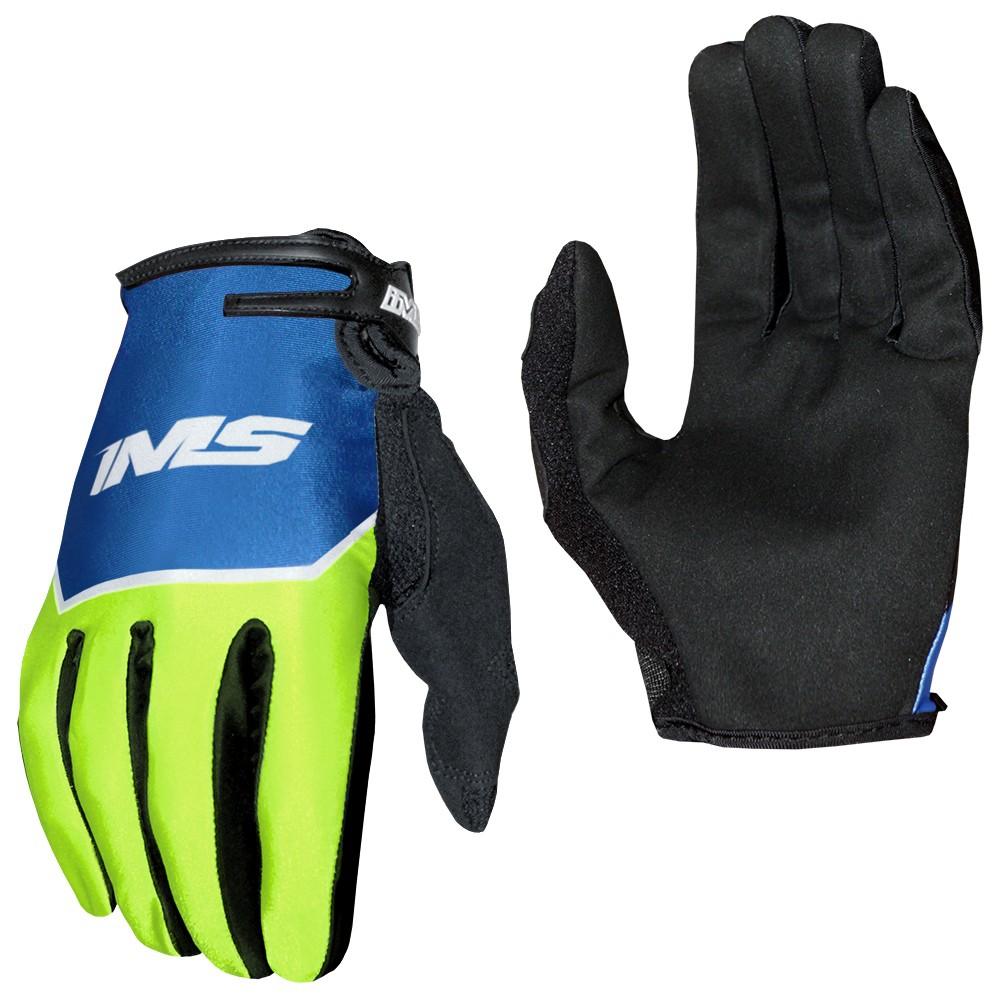 Luva Ims Power Motocross Trilha Azul Preto