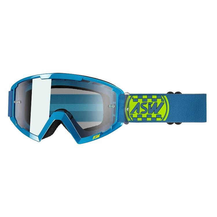 Óculos Asw A2 Check Trilha Motocross Enduro