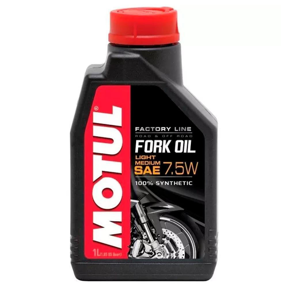 Óleo Suspensão Motul Fork Factory Light Medium 7,5W 100% Sintético 1L