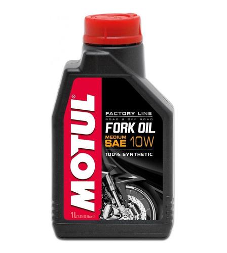 Óleo Suspensão Motul Fork Factory Medium 10W 100% Sintético 1L