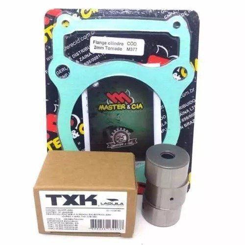 Pino Cursado Txk + Flange Master 2mm Xr 250 Tornado Cbx 250 Twister
