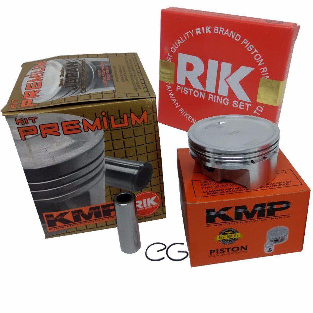Kit Pistão Kmp Premium Cg 150 P/ 220cc 70mm 70.50 Pino 14mm