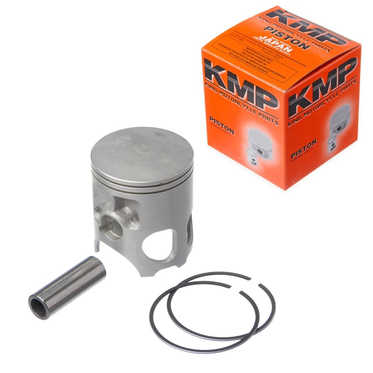 Pistão Kit C/ Anel Kmp Rd Rdz 135 Std a 2.00mm