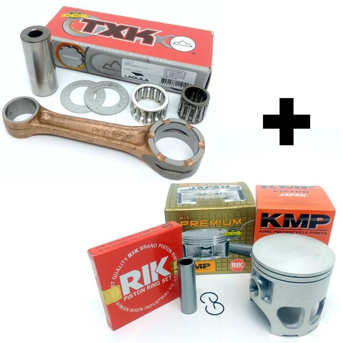 Pistão Kmp Premium Dt 200 Std á 2.00 Com Biela Txk