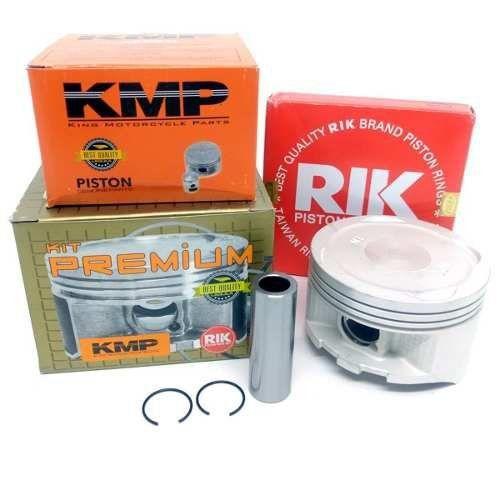 Pistão Kmp Premium Nx 400 Falcon Anéis Rik Std Á 2.00mm
