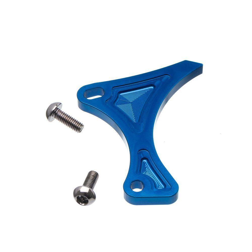 Protetor Da Corrente Motor Moto X Kawasaki Kxf 250 06... Azul