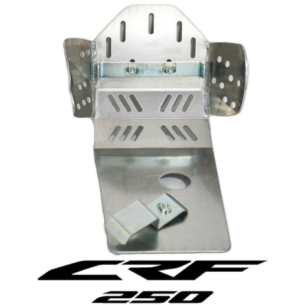 Protetor De Motor Corona Em Alumínio Honda Crf 250x 2004 A 2014