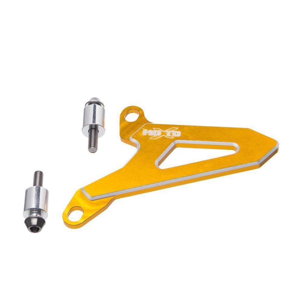 Protetor Do Pinhao Aluminio Moto X Suzuki Rm 125 03... Rm 250 99 Dourado