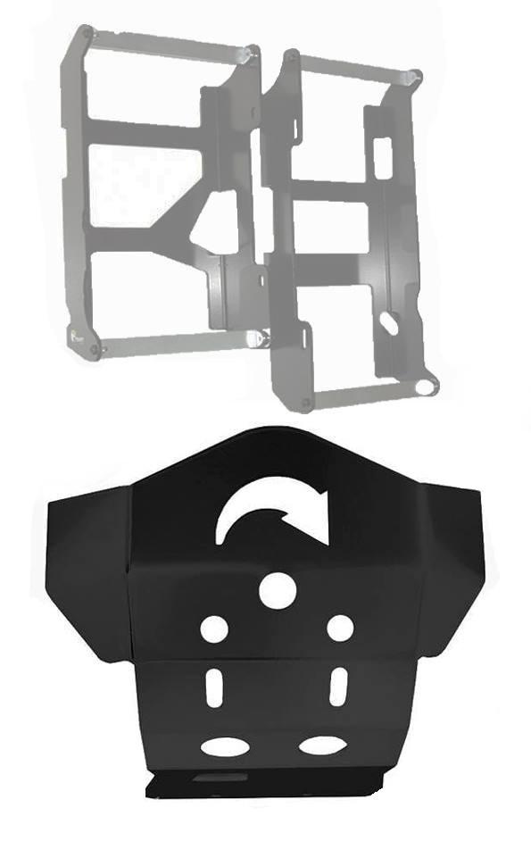 Protetor Motor Radiador Start Klx 450r
