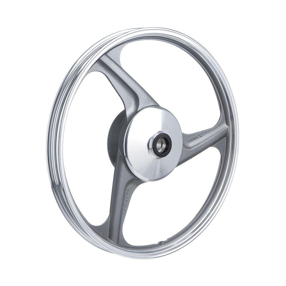 Roda Aluminio Dianteira Temco Centauro Cinza Cg 150 Ks