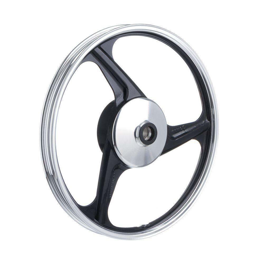 Roda Aluminio Dianteira Temco Centauro Preto Biz 125