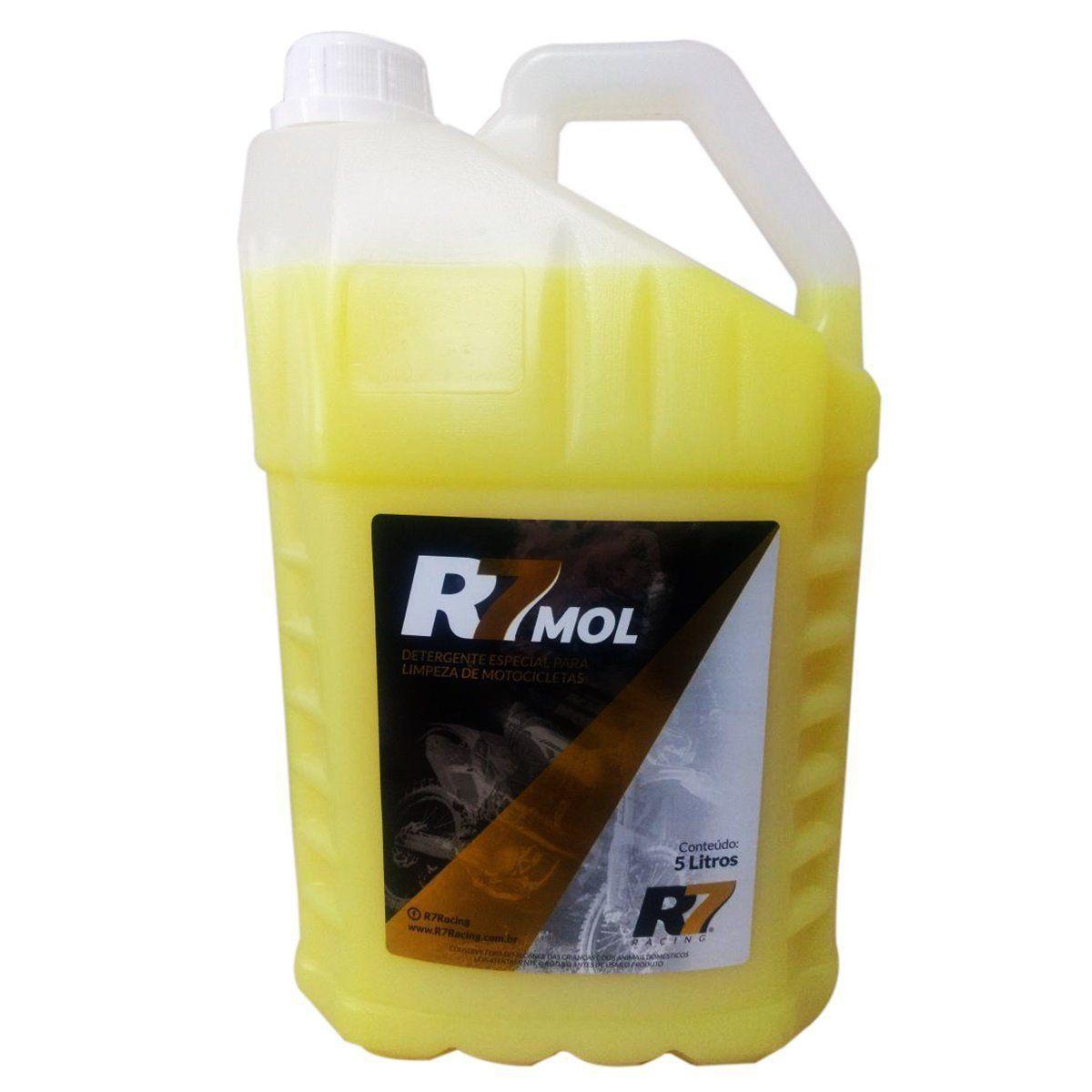 Shampoo Detergente R7 Det Mol Limpeza Motos Off Road