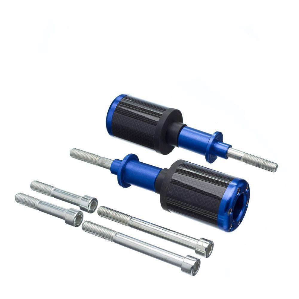 Slider Universal Bering Batente (Par) Carbon Aluminio