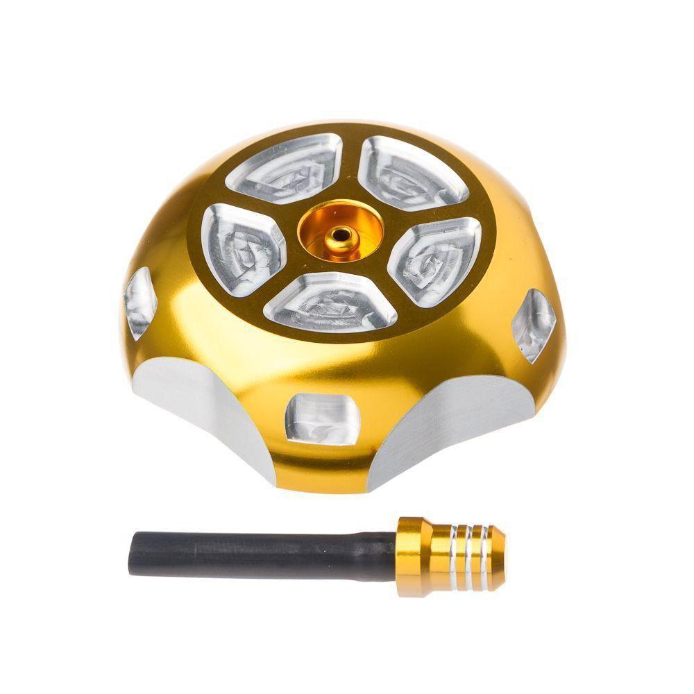 Tampa Tanque Com Respiro Moto X Hon Crf250R/X 04> Dourada