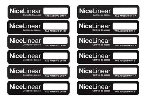 100pcs Tag Linear Original Adesivo Cr5 Hcs Etiqueta Sem Parar