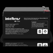 2x Bateria Intelbras XB 12 Al + 2 Sirenes 116db para Alarme