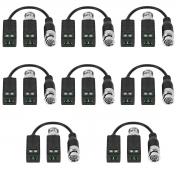 Balun 8 Kit  Passivo Cftv Transmissão Vídeo Vb 500 Intelbras
