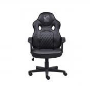 Cadeira gamer Pcyes Mad Racer STI Master full black