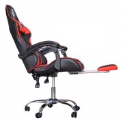 Cadeira Gamer Shoptelbras Tiger SX3 Vermelha C/ Apoio de Pés