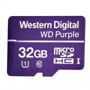 Cartão de Memória Purple  WD 32GB p/ Segurança Eletrônica