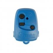Controle Remoto Portão Peccinin Tx 3c 433mhz Original Azul
