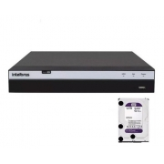 DVR FULL HD 3104 + HD 1TB COM FONTE 5A PARA CAM. E BALUN