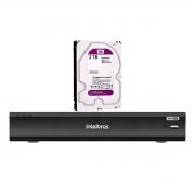 Dvr Gravador Digital iMHDX 3016 4MP +2TB WD Purple Intelbras