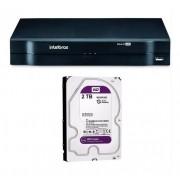 Dvr Intelbras 8ch Mhdx 1108 Cloud Ahd Multi Hd 2tb Purple