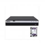 Dvr Intelbras Gravador MHDX 3108 MULTI-HD C/ 4tb WD Purple