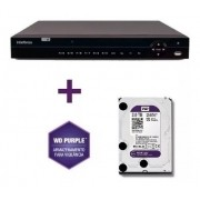 Dvr Multihd 32ch Mhdx 1132 Intelbras 5em C/hd Wd Purple 2tb