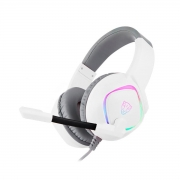 Headset Gamer Motospeed G750, RGB, 7.1 Drivers 40mm Branco