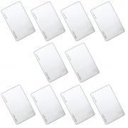 Kit 10 Cartões LF125 KHZ Clamshell Linear- HCS