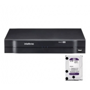 Kit 16 Câm Intelbras VHD 1080p 1220 Bullet G5 1116 + 1TB
