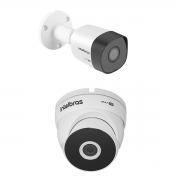 Kit 1 Camera Intelbras VHD 3230B + 1 3220D Metal Full HD