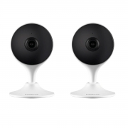 Kit 2 Camera Inteligente Intelbras Mibo Im3 Wi-fi Full HD