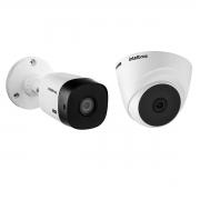 Kit 2 Câmeras 1120 Bullet e 1120 Dome VHD 720p 20m Intelbras