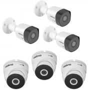 Kit 3 Câmera Intelbras VHD 3230B + 3 3220D Metal Full HD
